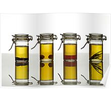 aromatic olive oils Poster