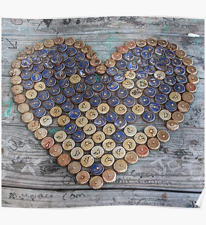 Bottlecap Love Poster