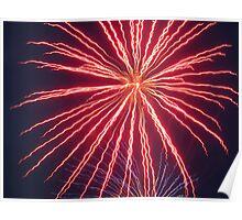 Regatta Firework - Isle of Wight Poster