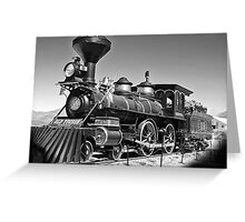 Famous Old Steam Train Greeting Card