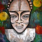 Antique Mask by Pamela Plante