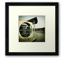 Government quarter in Berlin III Framed Print