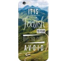 Mountains Quote iPhone Case/Skin