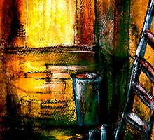 And Three Cans Of Paint by ©Janis Zroback