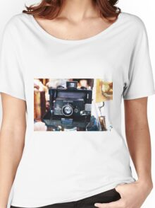 Reporter Camera Women's Relaxed Fit T-Shirt