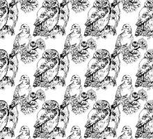Bird Wallpaper by Charlotte Anderson