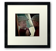 Who am I ... Framed Print