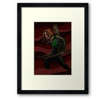 Obadiah the Vampire Hunter Framed Print