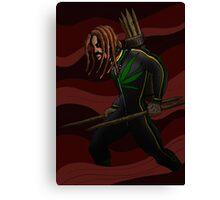 Obadiah the Vampire Hunter Canvas Print