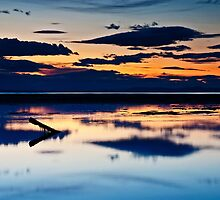 Findhorn Sunset by allysshrimp