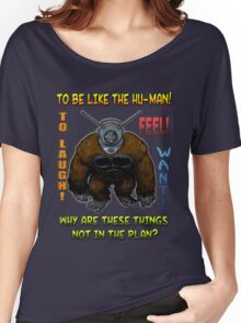 Ro-Man (with quote) Women's Relaxed Fit T-Shirt