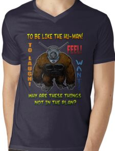 Ro-Man (with quote) Mens V-Neck T-Shirt