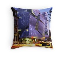 41 Cooper Square Throw Pillow