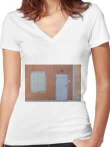 Options  Women's Fitted V-Neck T-Shirt