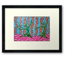 Alian Sun Dance Framed Print