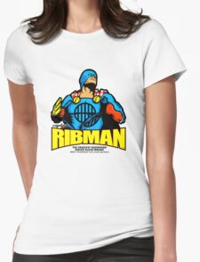 Captain RibMan, Ahoy! Womens Fitted T-Shirt