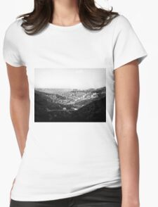 Forrest view  Womens Fitted T-Shirt