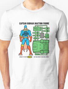 Captain RibMan InAction Figure T-Shirt