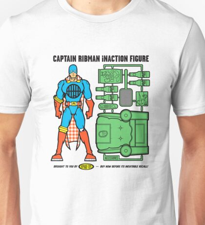 Captain RibMan InAction Figure Unisex T-Shirt