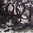 ALIENS HAVING AN ARGUMENT(C2015) by Paul Romanowski