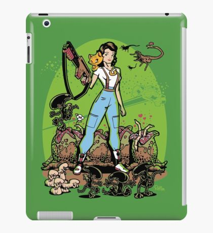 Alien Princess iPad Case/Skin