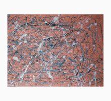 An original Jackson Pollock-inspired painting Kids Tee