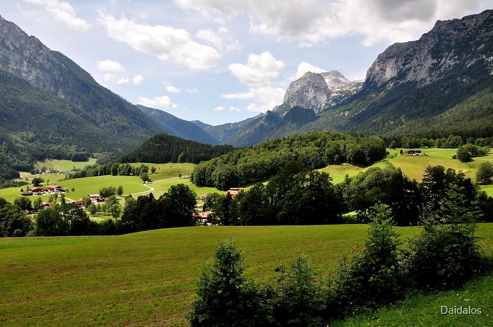 Mountain Stadelhorn. Germany. by Daidalos