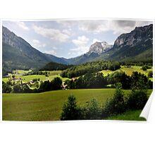 Mountain Stadelhorn. Germany. Poster