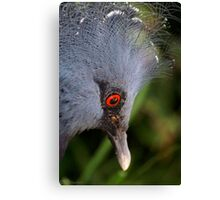 With my crown ... Canvas Print