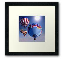 Balloon Race Framed Print