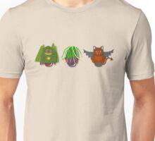 Workobeez THREE WIERD-Os Unisex T-Shirt