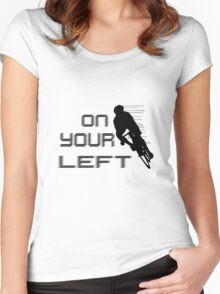 On Your Left Women's Fitted Scoop T-Shirt
