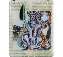 WHITE RABBIT iPad Case/Skin