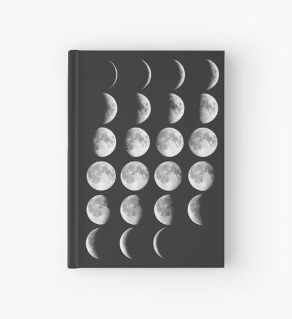 Moon Phases Hardcover Journal