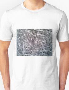 Grey Jackson-Pollock-inspired painting T-Shirt