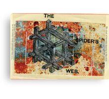 SPIDERS WEB Canvas Print