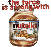 The force is strong with nutella by puulo