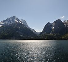 Cascade Canyon - Grand Teton National Park by Mark Heller