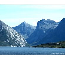 """The Giants Sleeping"" - Bodö, Norway by Maj-Britt Simble"