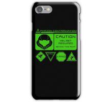 Cosmic Caution iPhone Case/Skin