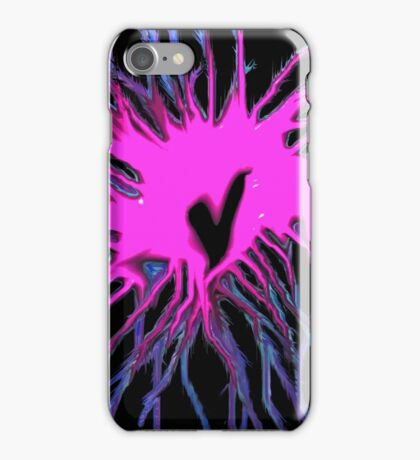 Fusion of the heart iPhone Case/Skin