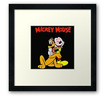 mickey mouse Framed Print