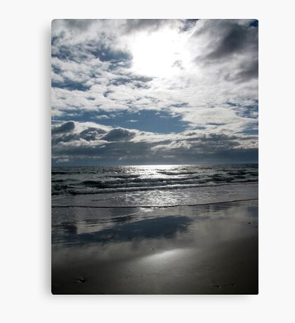 clever clouds  Canvas Print