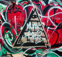 All-seeing Graffitti by OntheroadImage