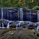 Somersby Falls by Ian English