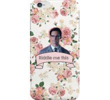 Edward Nygma- Gotham iPhone Case/Skin