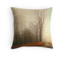 Emptyness Throw Pillow