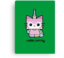 Hello Unikitty Canvas Print