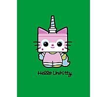 Hello Unikitty Photographic Print