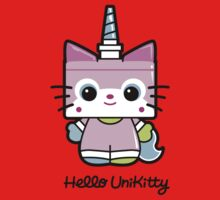 Hello Unikitty One Piece - Short Sleeve